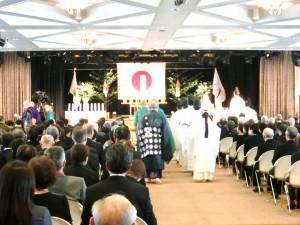 神式、仏式での慰霊祭