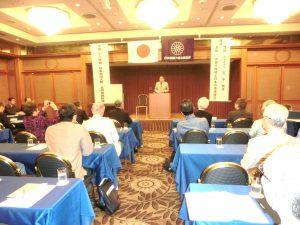 石先生の記念講演