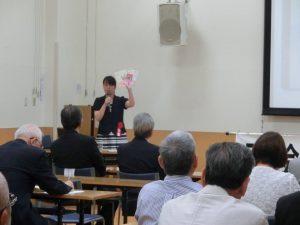 諌山氏の講演